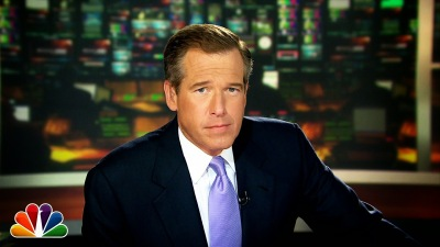 Photo Credit - You Tube NBC Evening News Anchor Brian Williams has been suspended from the network without pay for the next six months
