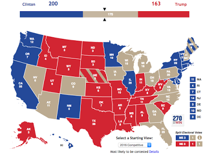 Photo Credit - 270 to Win - What The Electorial College Looks Like on a Map